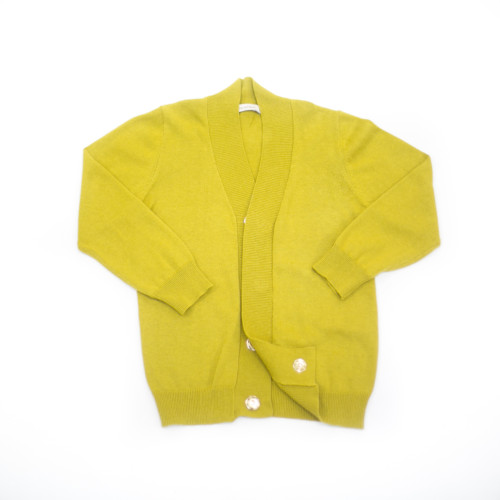 Charlie Peter Cardigan (Chartreuse)